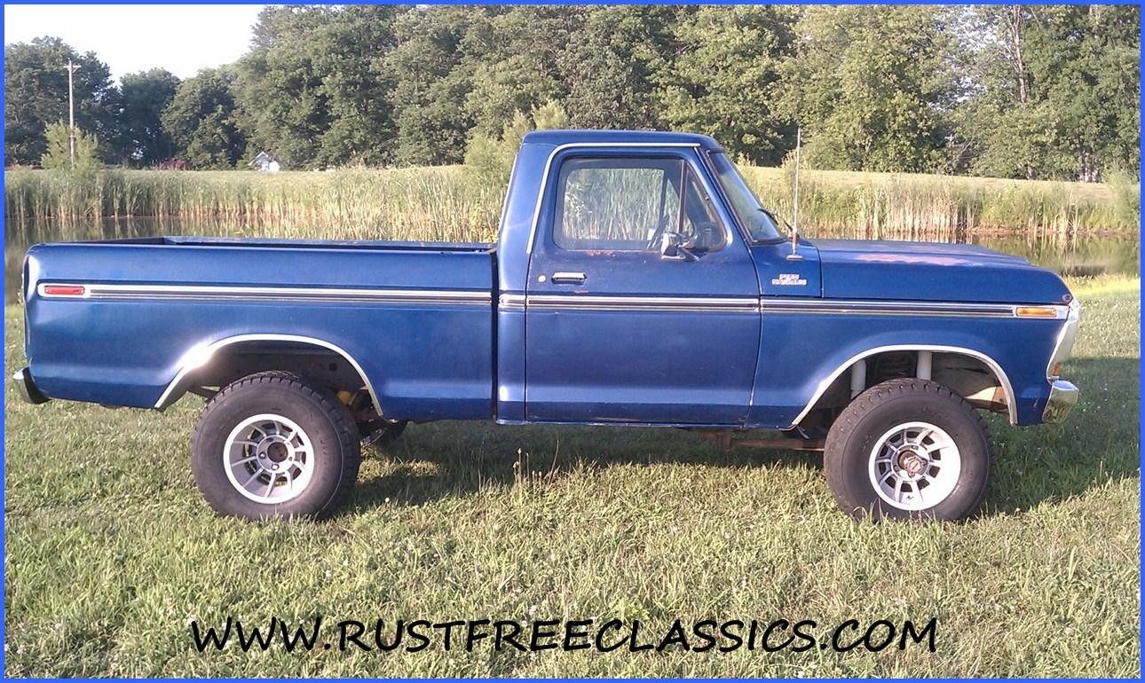 1978 F150 Swb Ranger Blue